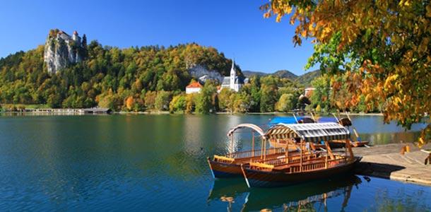 Bled on rauhallinen luontokohde Sloveniassa