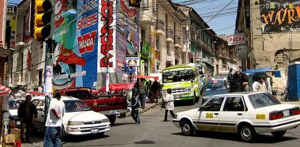 Liikkuminen ja majoitus Boliviassa