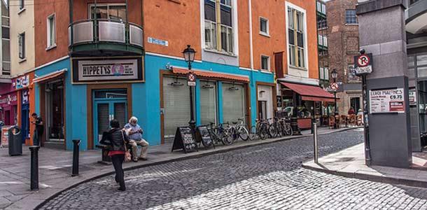 Dublinissa pääsee helposti kulkemaan jaloin
