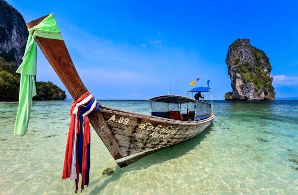 Krabi on Thaimaan suosituimpia lomakohteita