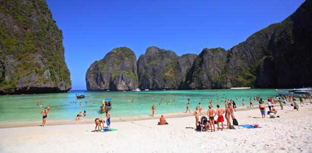 Thaimaa on talvikauden suosituin kaukokohde