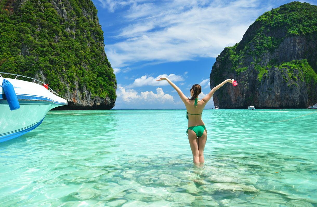 Thaimaa on suosittu kaukolomakohde