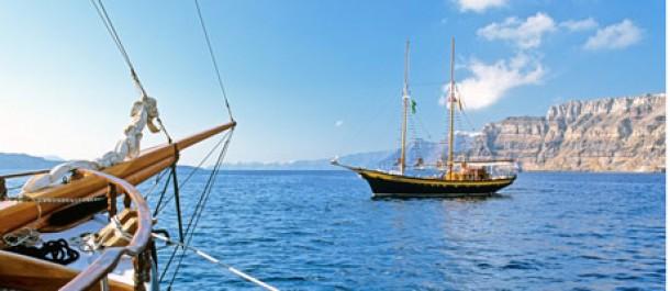 Purjehdusloma Kreikassa