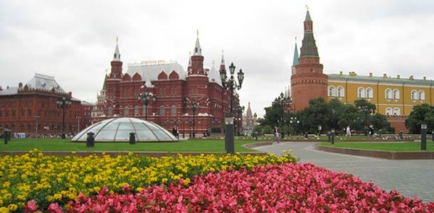 Kukkia Moskovassa