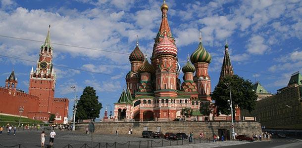 Moskova on Venäjän suurkaupunki
