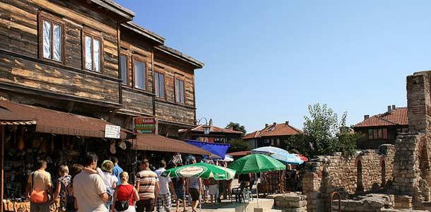 Bulgarian Nessebar on UNESCOn maailmanperintökohde