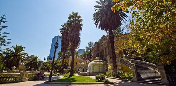 Santiago De Chile on Chilen pääkaupunki