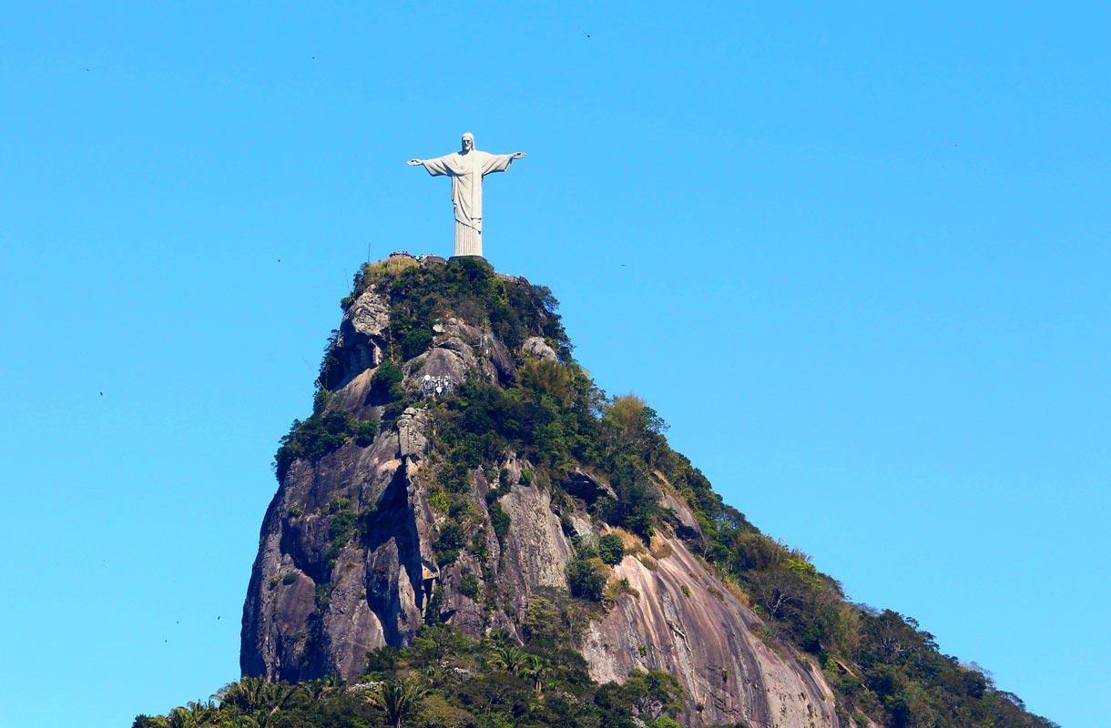 Kristus-patsas on Rio de Janeiron symboli.