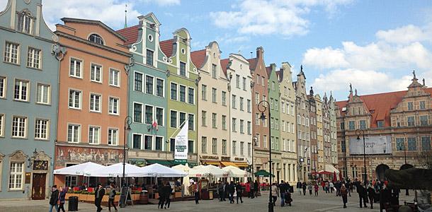 Gdansk on historiallinen hansakaupunki