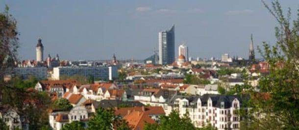 Leipzigin skyline
