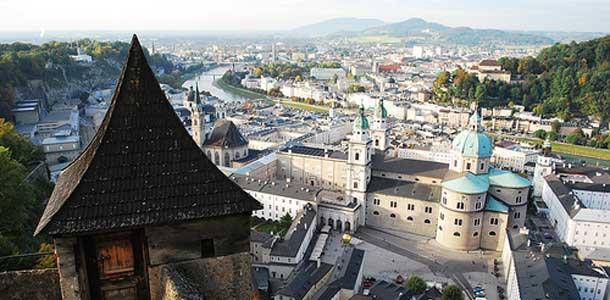 Salzburg on musiikki ja kulttuurikaupunki