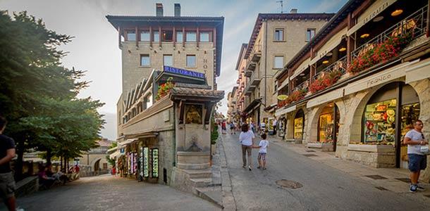 San Marinon pääkaupunki on San Marino