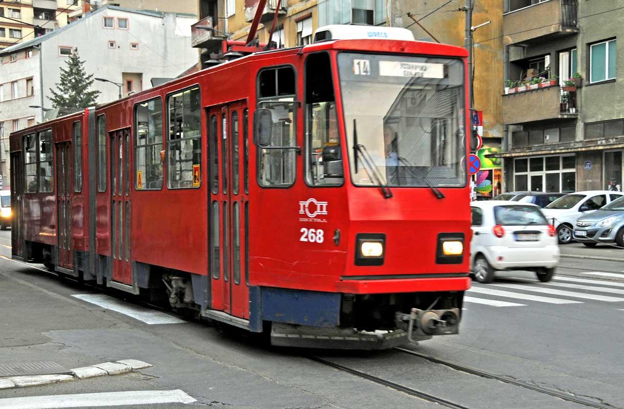 Belgradin julkisessa liikenteessä on puutteita.