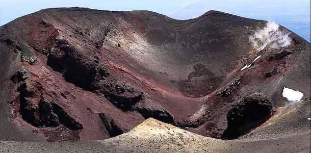 Sisilian kuuluisa tulivuori