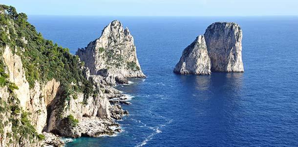 Caprin saarelle ei pääse lentäen