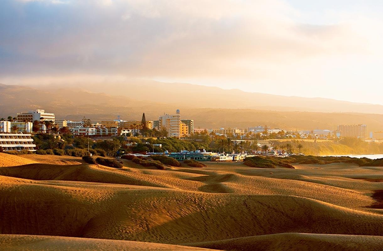 Gran Canarian pääkaupunki Las Palmas