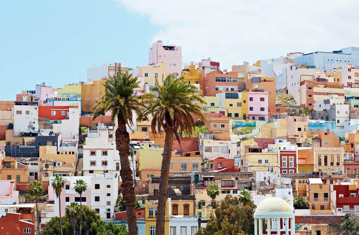 Kaupunkiloma Las Palmasissa