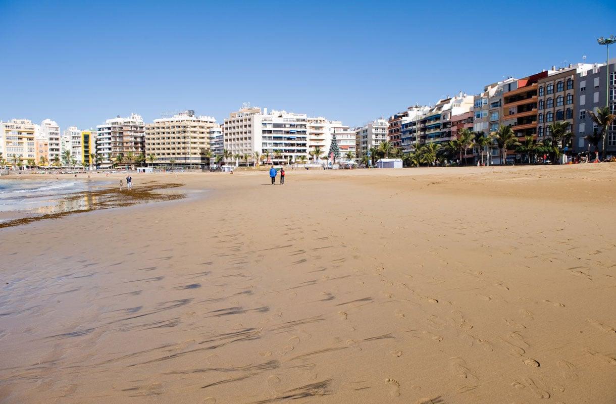 Las Pamasissa onnistuu sekä ranta- että kaupunkiloma.