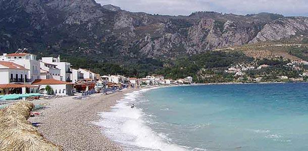Samos on Kreikan vihrein saari
