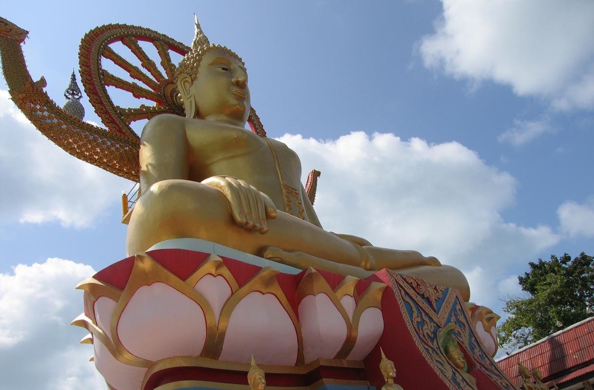 Big Buddha on Koh Samuin tunnetuin nähtävyys.
