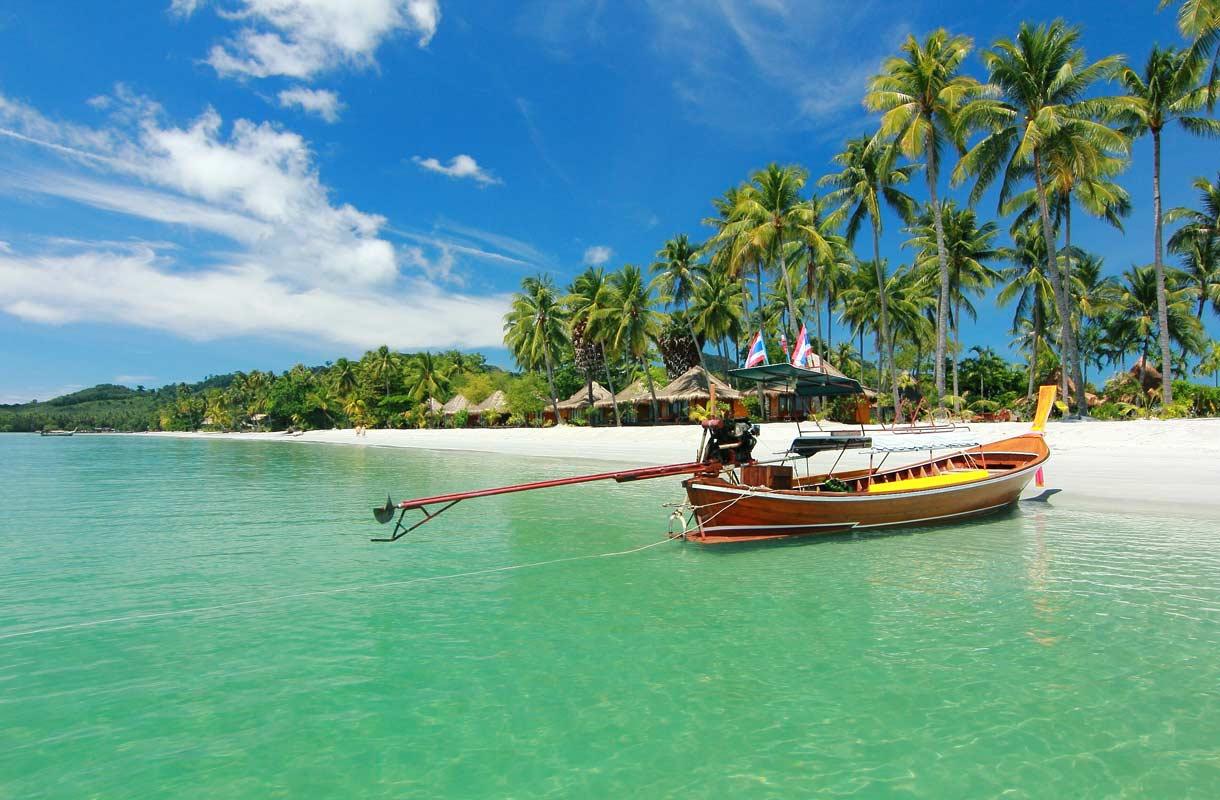 Thaimaan Koh Samui kuuluu talven suosikkikohteisiin.