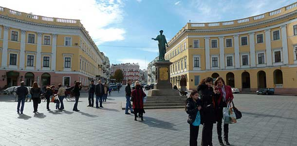 Ukrainaan tullaan yleensä kaupunkilomalle