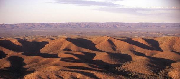Keski-Australian punaiset vuoret