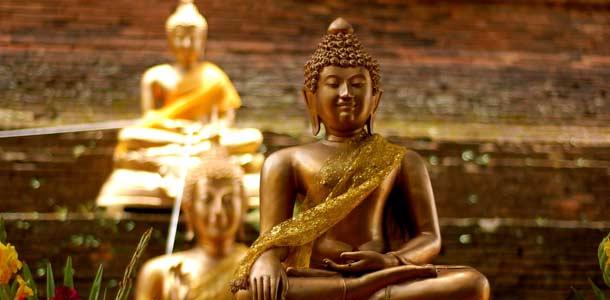 Pohjois-Thaimaa tunnetaan temppeleistään