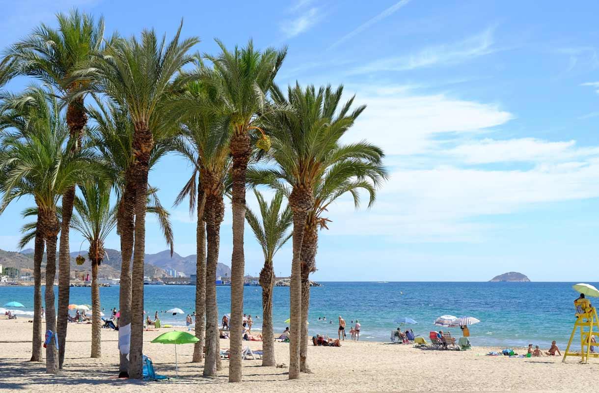 Alicante sijaitsee lähellä Torreviejan kaupunkia.