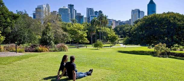 Brisbanen vehreä keskusta