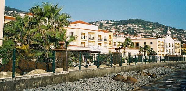 Funchalissa vanhan kaupunkin idylliä