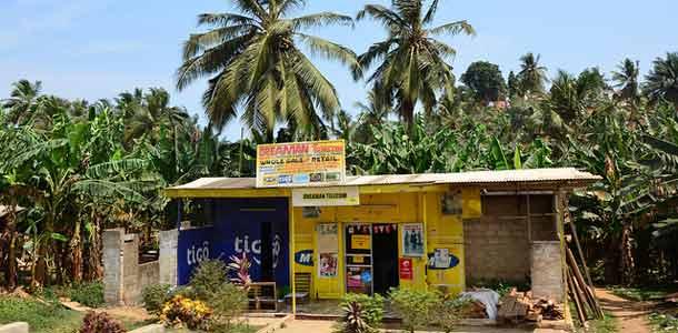Ghanan matkakohteet