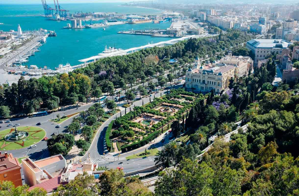 Málaga, Espanja