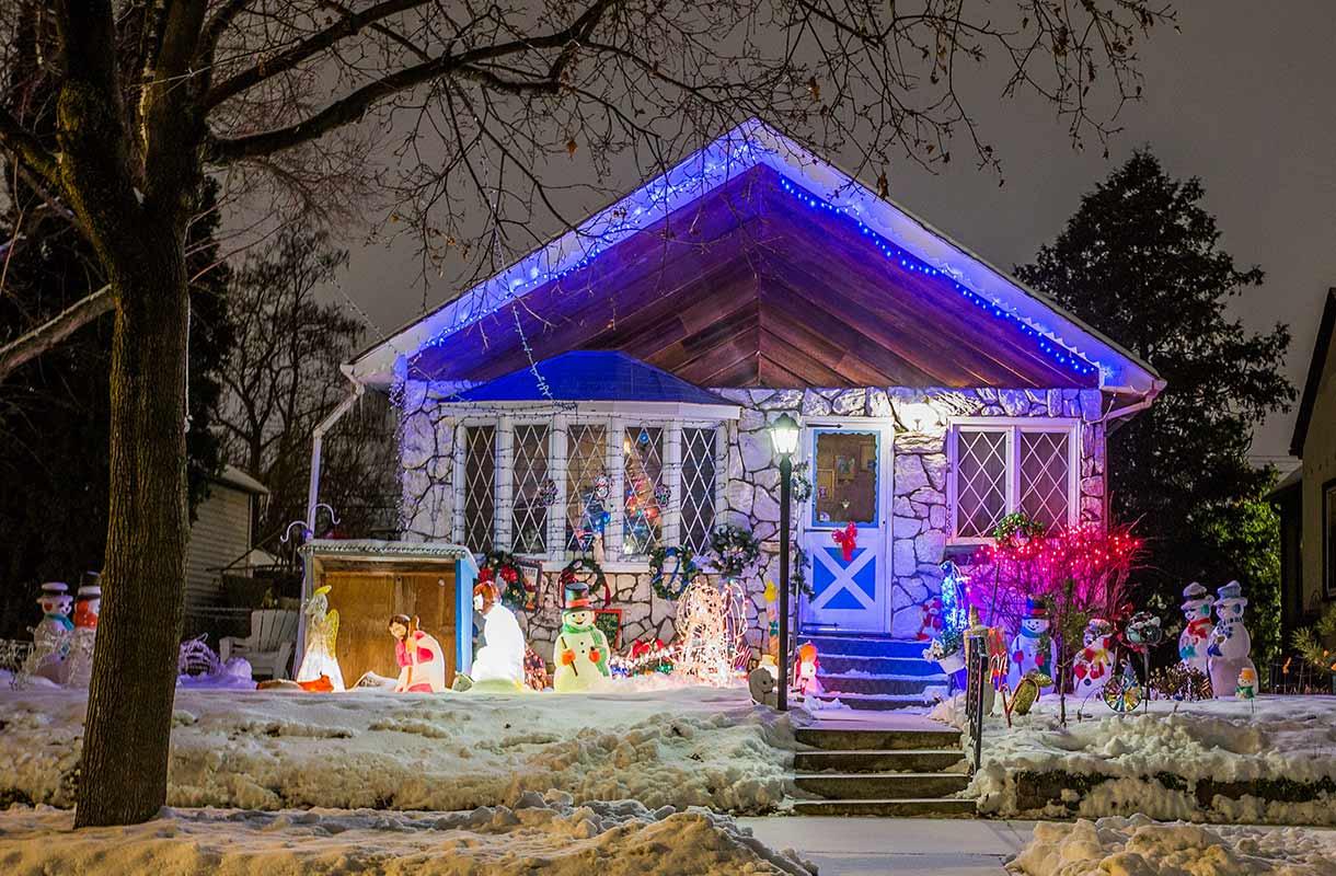 Jouluvalot Yhdysvalloissa