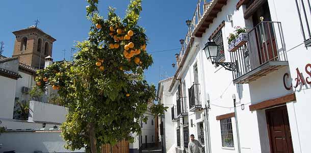 Granadan tunnelmalliset korttelit