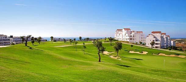 Marbella on suosittu golfkohde