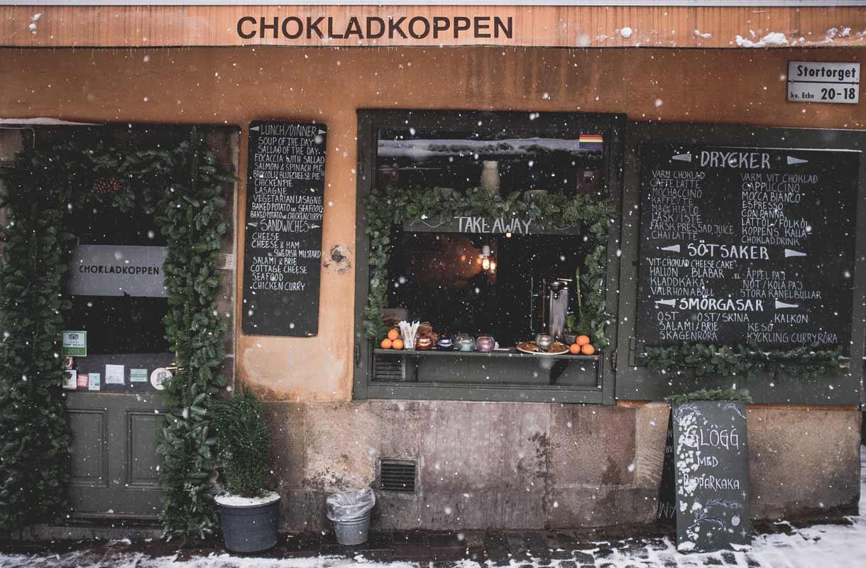 Chokladkoppen-kahvila Tukholmassa