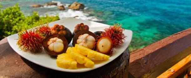Aasiassa hedelmät ovat tuoreita ja herkullisia
