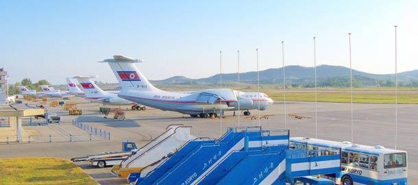 Lentokoneella Pohjois-Koreaan