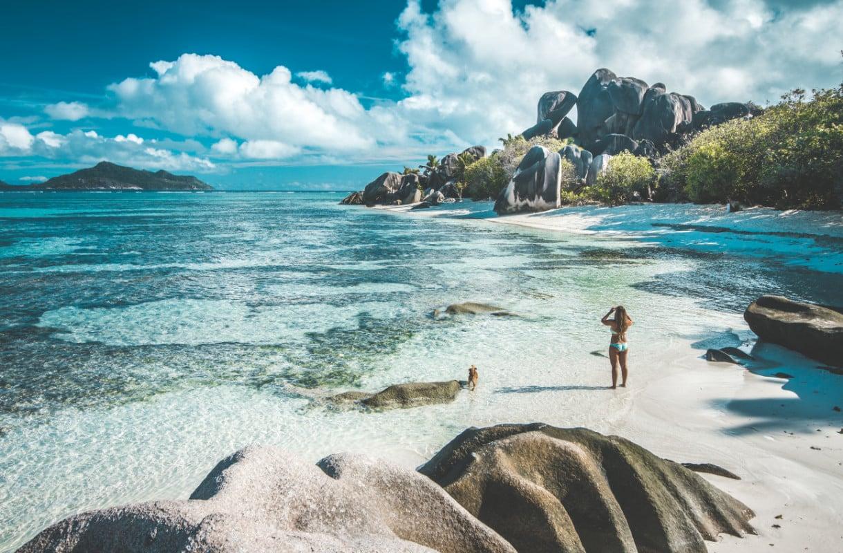 Anse Source d'Argent, Seychellit