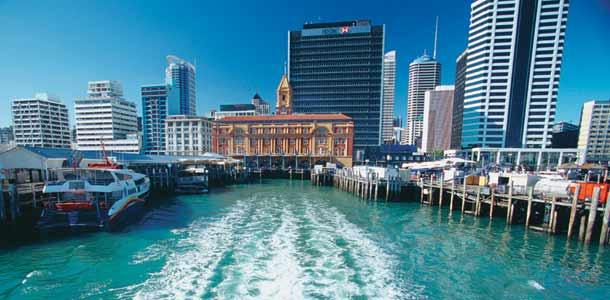 Aucklandin kaupunkimaisemaa