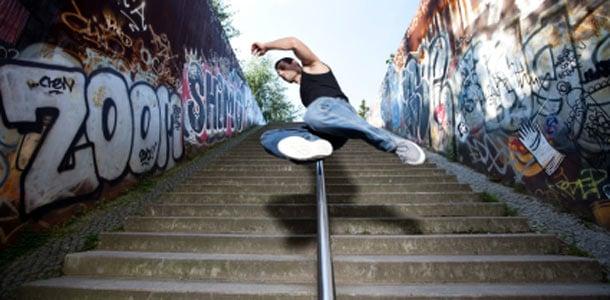 Graffitimaalauksia Berliinissä
