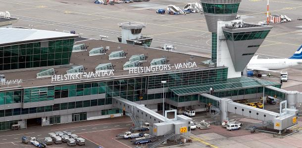 Lentokenttä Parkki Helsinki Vantaa