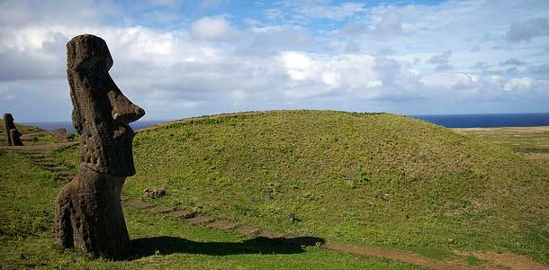 Moai-patsas Pääsiäissaarella