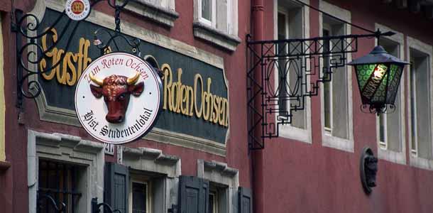 Ravintola Heidelbergissä