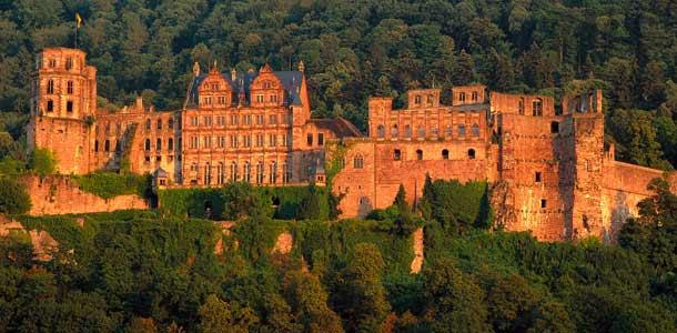 Heidelbergin linna Saksassa