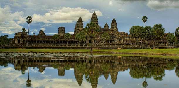 Angkor Watin temppelit Siem Reapissa