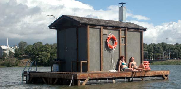 Kelluva sauna ja muita erikoisuuksia