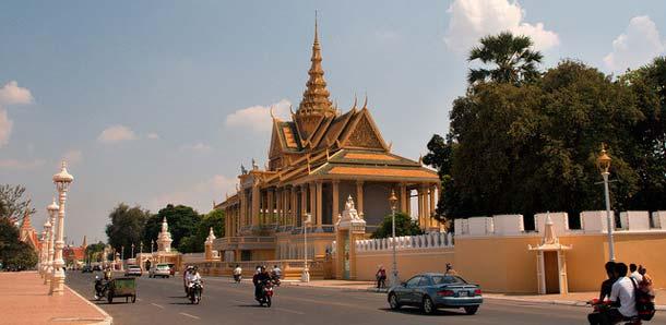 Palatsi Phnom Penhissä
