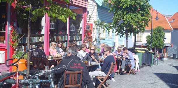 Stavanger kesällä